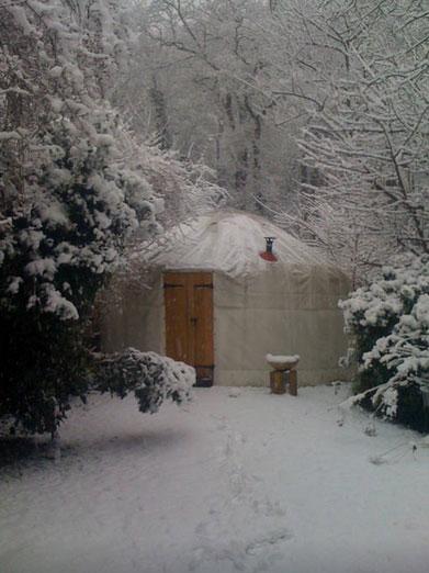 В юрте можно жить зимой