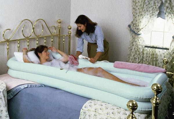 Переносная ванная для инвалидов