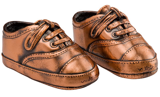 Бронзовые туфли