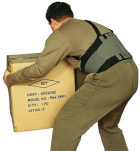 Вот так мы носим посылки с почты