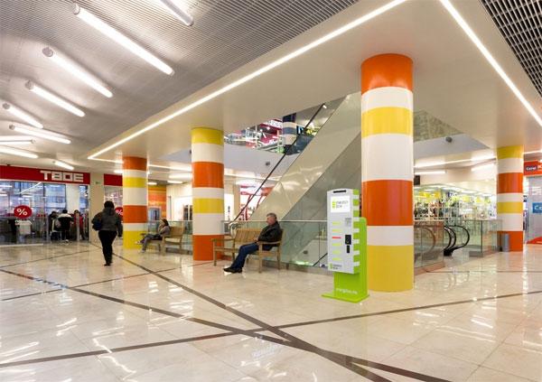 Зарядную станцию можно установить в любом торговом центре