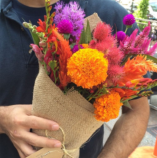 Букет полевых цветов с доставкой