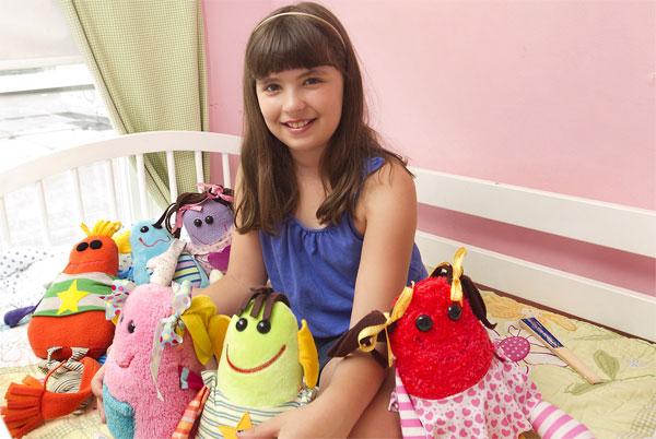 Изобретательница игрушек-монстров