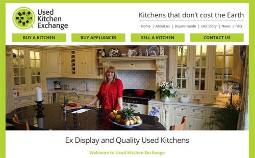 Сайт по продаже шикарных кухонь
