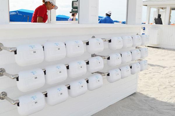 Сумки-сейфы на испанском пляже