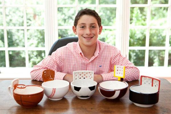 Макс Эш - изобретатель кружки с баскетбольной корзиной