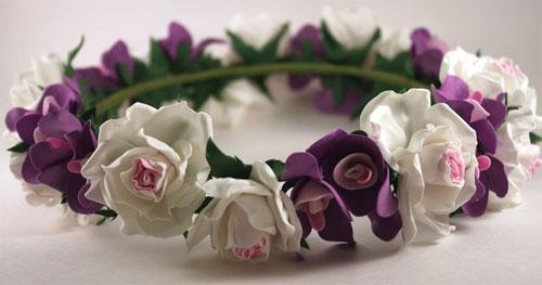 Рукодельные цветы из фоамирана