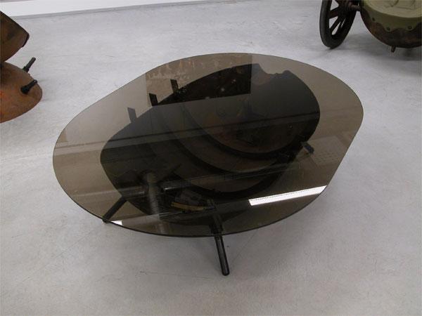Журнальный столик из мины