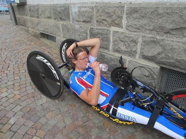 Андрей Ширяев - чемпион России в паравелоспорте