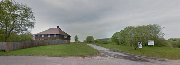 Вид на парк развлечений глазами Google