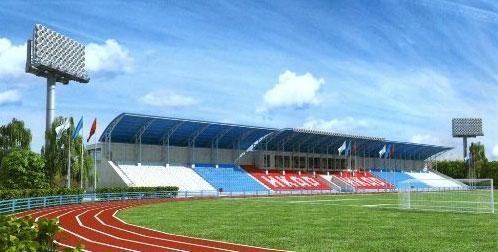 Новый, но закрытый стадион