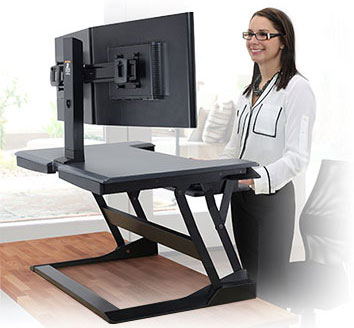 Складной столик для работы стоя