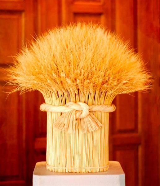 Букеты из пшеницы