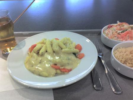 Обед из Германии