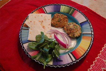 Обед из Израиля