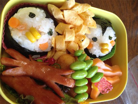 Обед из Японии
