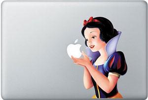 Китайская виниловая наклейка с Белоснежкой