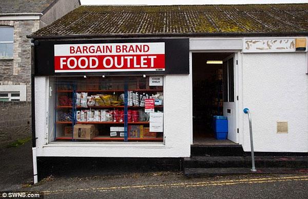 Магазин дешевых продуктов