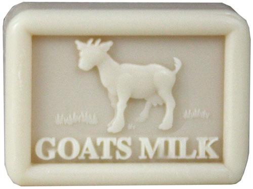 Мыло на козьем молоке