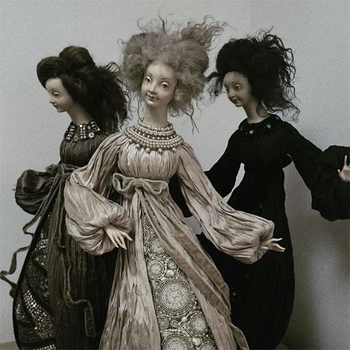 Авторские куклы Тамары Пивнюк