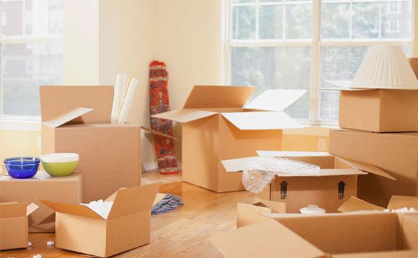 Продажа картонных коробок б/у