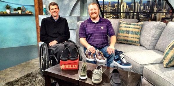 Стильная обувь для инвалидов