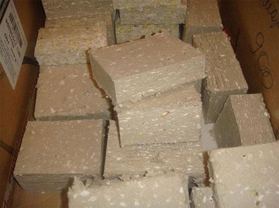 Переработка картонных коробок в топливные брикеты
