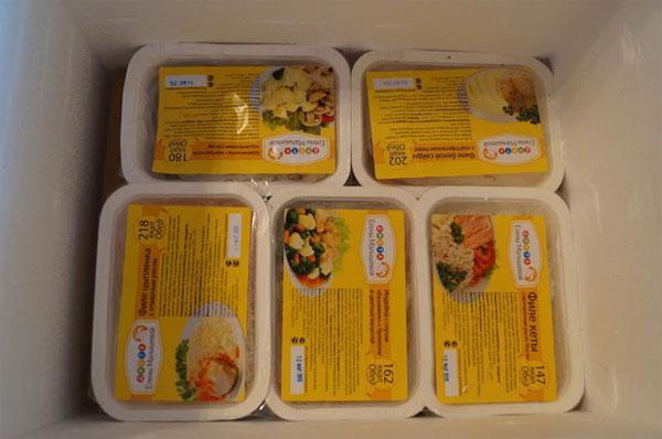Замороженная еда для пожилых людей