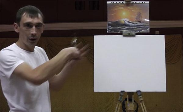 Мастер-классы художника