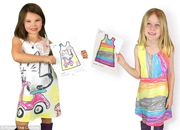 Платья по дизайну девочек