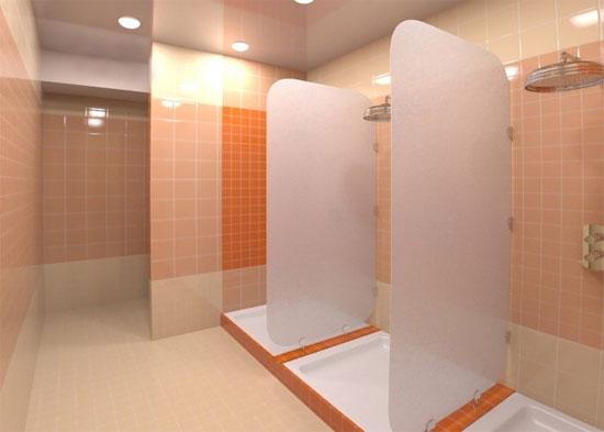 Городской душ