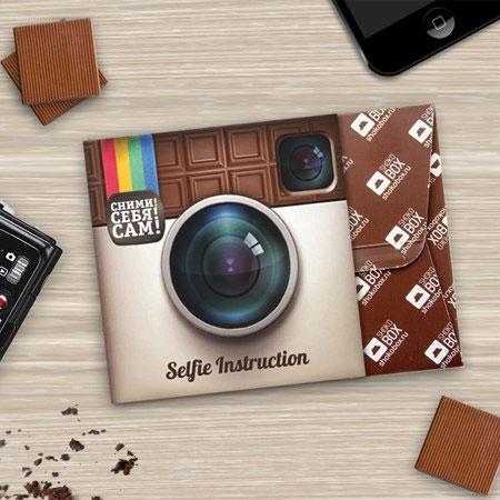 Шоколадка как подарок