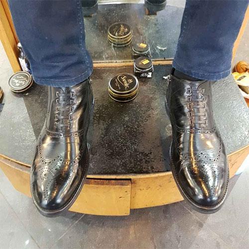Чистильщик обуви