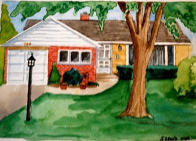 Картина вашего дома