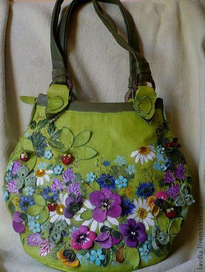 Эксклюзивная сумочка от Натальи Колесниковой
