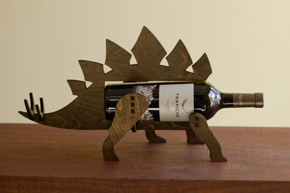 Подставка-динозавр для бутылки