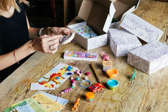 Детские игровые наборы в дорогу