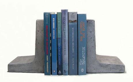 Книгодержатели из бетона