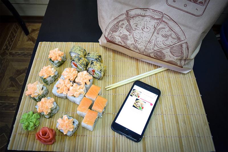 Мобильное приложение Food Ball для доставки еды к поезду