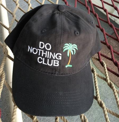 Бейсболка от Клуба бездельников