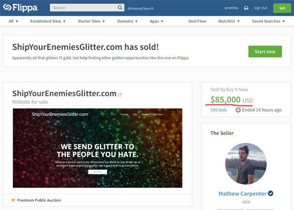Сайт, зарабатывающий на ненависти, продан за 85 тысяч долларов