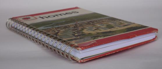 Блокноты из старых книг