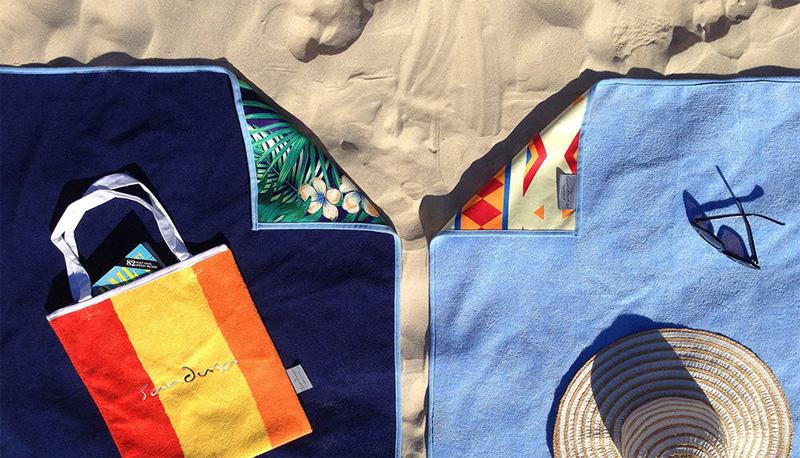 Новые дизайны полотенца от песка