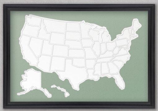 Фото-карта путешественника
