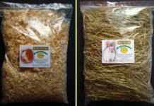 Фасовка сена и опилок в пакеты