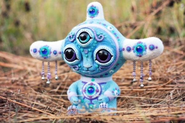 Необычные мягкие игрушки