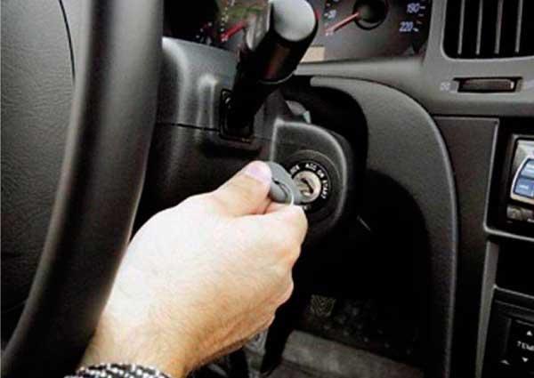 Ключ против угона автомобиля