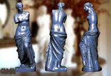 Гипсовые копии статуй