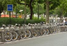 Дневная стоянка велосипедов
