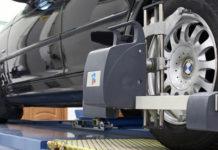 Автосервис по регулировка развала/схождения автомобилей